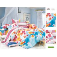 Wholesale OEM Personalized Queen Size Patterned Decorative 100 Cotton Plum Bed Sheet Sets from china suppliers