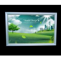 Wholesale 300x500mm super slim silver aluminum frame  led advertising light box from china suppliers