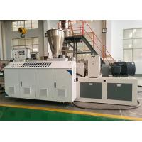 China Agriculture Plastic Pipe Making Machine / CPVC UPVC Extrusion Machinery on sale