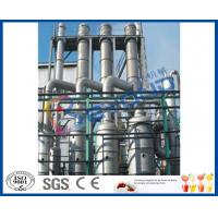 Wholesale SUS304 Industrial Multiple Evaporator System , Falling Film Multi Effect Evaporators from china suppliers