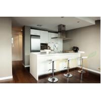 Buy cheap Glossing white kitchen cabinets lacquer glazed kitchen cabinet from wholesalers