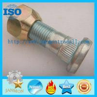 Wholesale High Strength Hub Bolt With Nut,Zinc plated knurled bolt with nut,High tensile bolt with nut,Grade 10.9 bolt and nut set from china suppliers