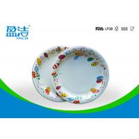 Wholesale 6 Inch Diameter Disposable Paper Plates Printed By Flexo Water Based Ink from china suppliers