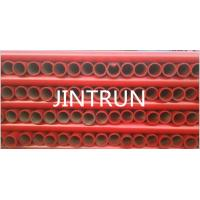 Wholesale St52 Concrete Pump Seamless Steel Pipe DN125 , 4.5mm / 5.0mm Thickness from china suppliers