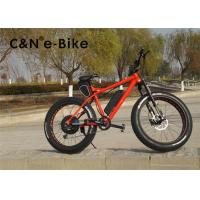 Wholesale 26 Inch Eelectric Pedal Assist Mountain Bike With Big Fat Wide Thick Tires from china suppliers
