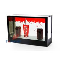 Wholesale FHD Exhibition Transparent Touch Screen Display , Desktop 3d See Through Lcd Display from china suppliers