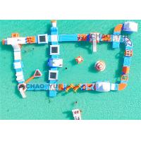 Wholesale Commercial Huge Floating Inflatable Water Park With CE Air Pump Accessory from china suppliers