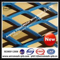 Wholesale blue paint heavy duty expanded metal for walkway,ramp,metal sheet from china suppliers