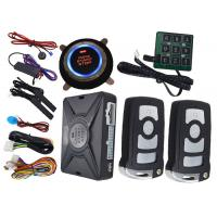 Wholesale Passwords Smart Car Alarm System Ultrasonic Car Alarm With Remote Start from china suppliers