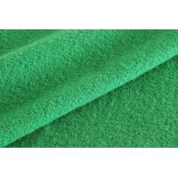 Wholesale Green Color Medium Weight Boiled Wool Fabric For Blazer Without Washed from china suppliers