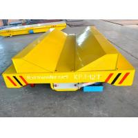 Quality 10t plastic coils handling railway mounted rail transfer cart with V-frame production line for sale