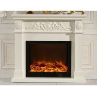 Wholesale White Decorative Fireplaces Led Electric Fireplace Eco Friendly from china suppliers