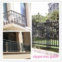 Wholesale 2014 hot sale high quality and best price wrought iron fence from china suppliers