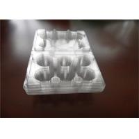 Wholesale PEC PET 6 Pack Egg Cartons , Lucite Clear Plastic Egg Cartons For Packaging from china suppliers