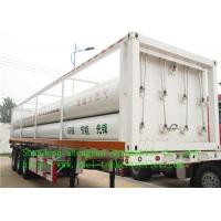 Wholesale CNG Liquid Tank Trailer , FUWA 13T with FUWA brand axles from china suppliers