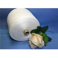 Wholesale White cloth Spun Polyester Yarn , high tenacity polyester sewing thread from china suppliers