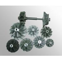 Buy cheap Turbo fan wheels parts vacuum investment casting High temperature nickel base alloy from wholesalers