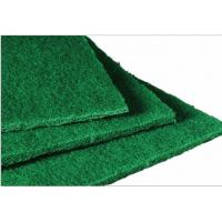 "Quality Light Duty General Plastic Brush Pad 4.5 "" Length x 3 "" Width Green for sale"