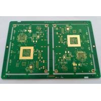 Wholesale 10 layers HDI FR-4 PCB ENIG green soldmask white silkscreen min drill hole 0.1mm from china suppliers