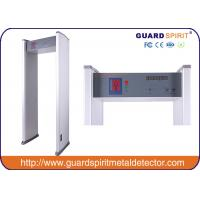 Wholesale cheap price 6 zones walk through metal detector , security metal detctor with 6 LED Strips alarm from china suppliers