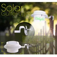 Wholesale Plastic Solar Step Lighting Solar Gutter Led Light Solar fence light (DL-SW378) from china suppliers