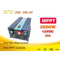 Wholesale Low Frequency Pure Sine Wave Dc Pv Solar Inverter 12v Ac 220v 2000w Off Grid Solar Inverter from china suppliers