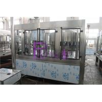 Wholesale Aseptic Round Bottle Drinking Water Filling Plant , Liquid Filler Equipment from china suppliers