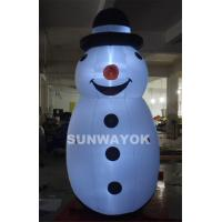 Wholesale Merry Christmas LED Snownan Inflatable Advertising Model For Outdoor  Decoration from china suppliers