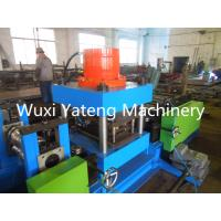 Wholesale PLC Control Guardrail Roll Forming Machine With Hydraulic Punching 1 Year Warranty from china suppliers