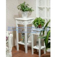Wholesale Wooden table, wooden flower pot holder, wooden living room furniture from china suppliers