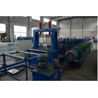 Wholesale Heavy Duty 1.5-4mm G.I Steel Perforated Cable Tray Roll Former High Speed Fully Automatic from china suppliers