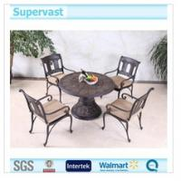 Wholesale Professional Cast Aluminum Patio Dining Sets Metal Patio Furniture With Chair / Table from china suppliers