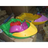 Wholesale Exciting Outdoor Inflatable Water Games Paddle Boat Kids Hand Boat from china suppliers