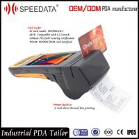 Wholesale 4G LTE Mobile Handheld Smart Card Reader PDA Industrial with Portable Thermal Printer from china suppliers