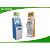 Wholesale Food Ticket Vending Machine , Card Dispenser Self Service Kiosk 19 Inch Touch Screen from china suppliers