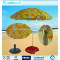 Wholesale 1.8M Colorful Folding Beach Umbrella Windproof Large Sun Garden Parasol from china suppliers