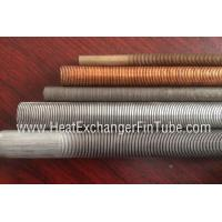 Wholesale Gr 1 / 2/ 16 /26  SMLS Titanium Integral Low Finned tube ,  30FPI / 36FPI / 43FPI from china suppliers
