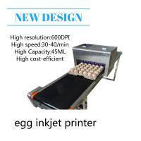 Wholesale High Performace Egg Jet Printer With Computer Control Dedicated Shuttle Conveyor from china suppliers