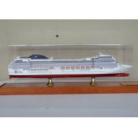 Wholesale MSC Musica Cruise Ship Mediterranean Cruises Ship Models With Alloy Diecast Anchor Material from china suppliers