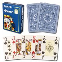 Wholesale XF Modiano Italian Poker Game Playing Cards - dark blue Poker 4 Jumbo Index Single Card Deck - 100% |Poker Analyzer from china suppliers