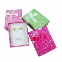 Wholesale Recycled Earring Display Gift Jewelry Paper Boxes 90 Cm Width , 120 Cm Length from china suppliers