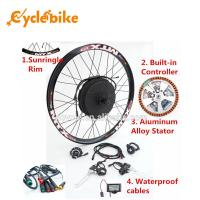 Wholesale 1000 W E Bike Front Hub Motor Electric Bike Kit , Motorized Bicycle Kit from china suppliers