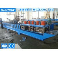Wholesale Galvanized Roller Shutter Door Frame Roll Forming Machinery with 8 - 12 m / min from china suppliers