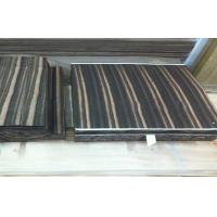 Wholesale Natural Wood Flooring Veneer , Amara Ebony Veneer Straight Grain from china suppliers