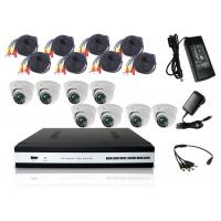 Wholesale DVR Surveillance System HD DVR Kit With 8PCS Dome Camera 3pcs Power Supply from china suppliers
