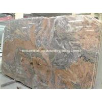 Wholesale Brazil Juparana Granite Slab, Brail Muilticolor Red Granite Slab from china suppliers