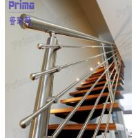 Quality Interior unbreakable strong stainless steel staircase balustrade for sale