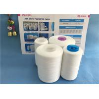 Wholesale High Tenacity Semi Dull 42/2 Spun Polyester Yarn / TFO Spun Polyester Sewing Thread from china suppliers