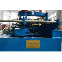 Quality Galvanized Steel / Black Steel Cable Tray Roll Forming Machine 20 Roller Stations for sale