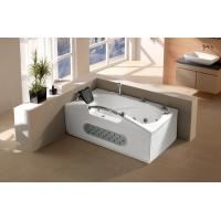 Wholesale Rectangle SPA bathtub whirlpool massage bathtub with jets and mian control panel (G672) from china suppliers